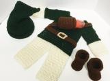 Link Crochet Costume Newborn Outfit Legend of Zelda
