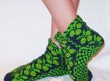 Green, Green Grass Of Home Slippers