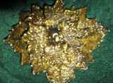 Green Man Barrette - Sunset Gold