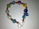 Eye bead bracelet
