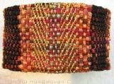 Katsara Handwoven Textile Cuff Bracelet