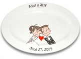 Starry Eyed Couple Wedding Signature Platter