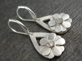 Buttercup Fine Silver Earrings