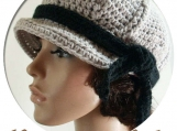 PDF Crochet Pattern No 45-a, Ribs with a Dbl. Twist