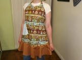 Coffee Themed Apron