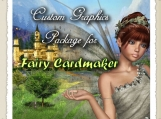 CUSTOM Graphics Package for Fairy Cardmaker