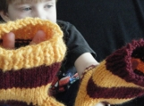 Fingerless Mitts - Harry Potter