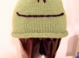 Fabulous Knitted Kids Frog Hat