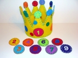 Multi-Year Felt Party Crown
