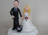 Wedding Cake Topper - Custom Made