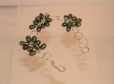 Sterling Silver and Freshwater Pearl Cluster Bracelet