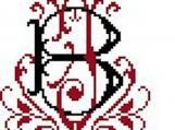 Venetian Monogram PDF Pattern