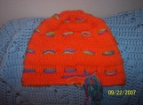 Custom Knit Ginny Weasley inspired beehive hat