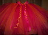 Orange and pink tutu