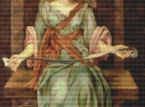 The Souls Prison House Cross Stitch Pattern