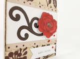 Red Rose Birthday Card