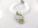 White hello kitty bracelet
