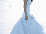 wedding designer dress, sample sale, custom made dress
