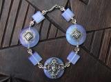 Opalite Art Nouveau Goddess Bracelet