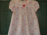 Sweet and Simple Rosebud Dress Size 3T