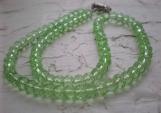 Green Ocean Czech Glass beads. Just so LOVELY!!!!