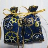 "Navy Blue 3""X2"" Sachet-'Icy Apple' Fragrance-Cindy's Loft-293"