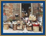 Wine Shop Cross Stitch Pattern