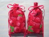 """Pink 4""""X2"""" Sachet-'SunRipened Raspberries' Fragrance-704"""