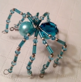 Wire Art Spider Charm