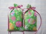 "Easter 4""X2"" Sachet-' Violet & Birch' Fragrance-Cindy's Loft-620"