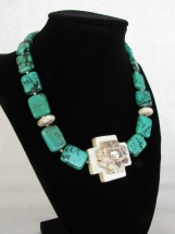 Turquoise Crossroads Necklace