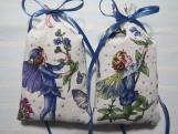 "Blue 4""X2"" Sachet-'Lavender Flower' Fragrance-Cindy's Loft-679"