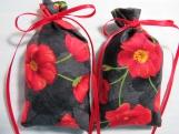 "Memorial Day Poppies 5""X2"" Sachet-'Spring Rain Fragrance-392"