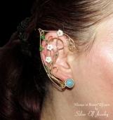 Always in Bloom, elven ears, blooming elf ears, dryad ears