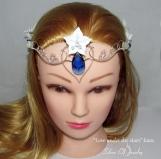 Elven tiara - Love Under the Stars, Wedding tiara, Elven circlet
