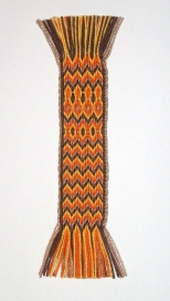 Autumn Chevrons Bookmark