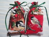 "Christmas 5""X2"" Sachet-'Christmas Wish' Fragrance-134"