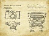 Photo Journalist Patent Art Duo-U.S. Shipping Included