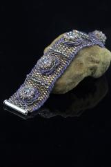 """""""Sophistication"""" handcrafted bracelet"""