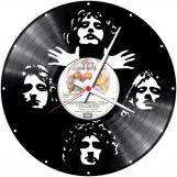 Queen 2 Loop-store handmade vintage vinyl clock