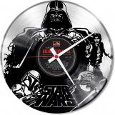 Star-wars 1  Loop-store handmade vintage double vinyl clock