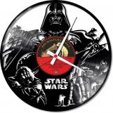 Starwars 2 Loop-store handmade vintage vinyl clock