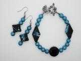 Ocean Depths Beaded Bracelet Set