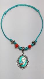 Owl Necklace -  ALNE018