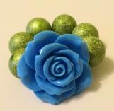 Toddler's Chunky Flower Bracelet