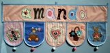 Name Banner for Baby, toddler, boy and girl