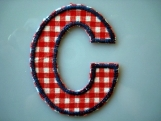 iron on letters to iron on names in nursery kids room decoration