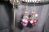 Pretty and Pink necklace and earrings