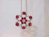 """Snow Flake"" Purse Charm / Ornament / Room Decor - 4 colours"