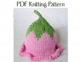 Boston Beanies Knit Baby Flower Fairy Hat Pattern